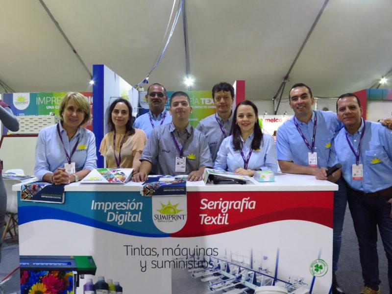 Sumiprint en Feria Colombiatex 2019, Sumiprint